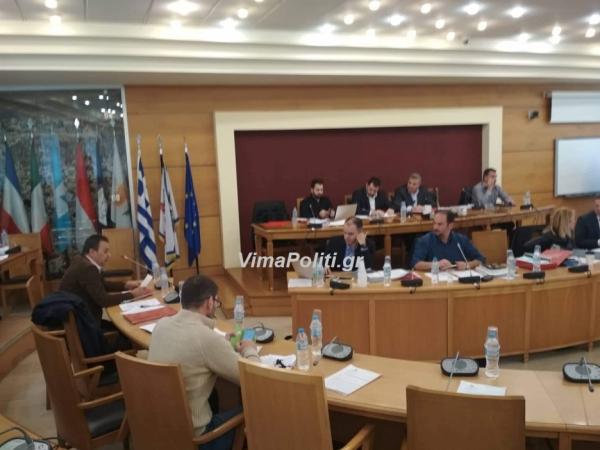 Ένταση και αντεγκλήσεις στο Περιφερειακό συμβούλιο για την υποστελέχωση του δήμου Αγράφων(Βίντεο)