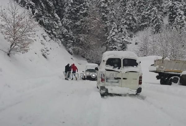 Ευρυτανία:Η κατάσταση στο οδικό δίκτυο-Κλειστοί και ολισθηροί δρόμοι