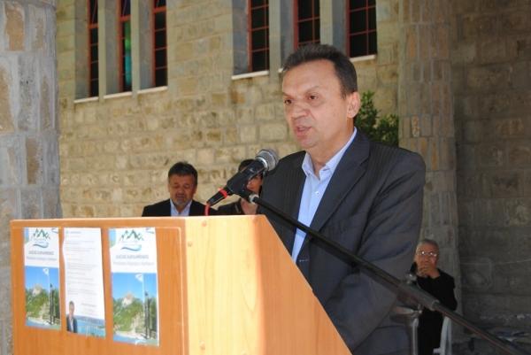 Πρόγραμμα και υποψηφίους παρουσίασε απ'το Ραπτόπουλο ο Αλέξης Καρδαμπίκης